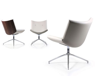 Low Back Swivel Visitor Chair