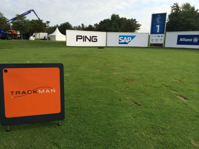 TrackMan at Solheim Cup Event