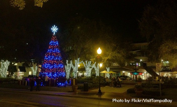 Tree Lighting Ybor City Top Holiday And Christmas Events In Tampa Bay For Families