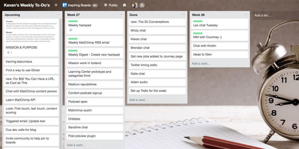 How To Find Trello Board Templates, Samples  Inspiration For Every Idea