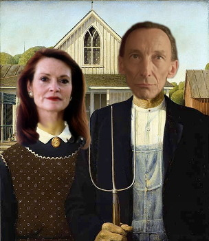 Morthren Gothic - American Gothic reimagined with Julian Richings and Patricia Phillips from War of the Worlds