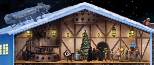 Lucasfilm Holiday Card Maker