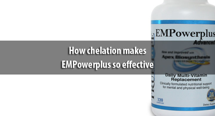 How chelation makes EMPowerplus so effective