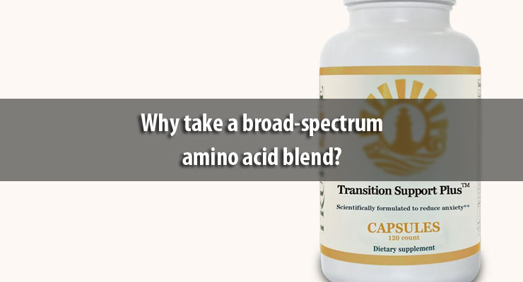 Why take a broad-spectrum amino acid blend?