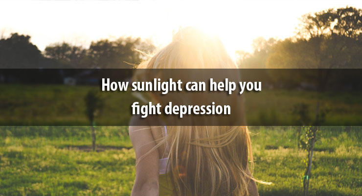 How sunlight can help you fight depression