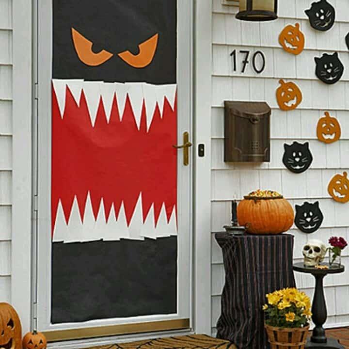 10 Halloween Crafts for Kids! Halloween Pinterest Craft - how to make homemade halloween decorations for kids