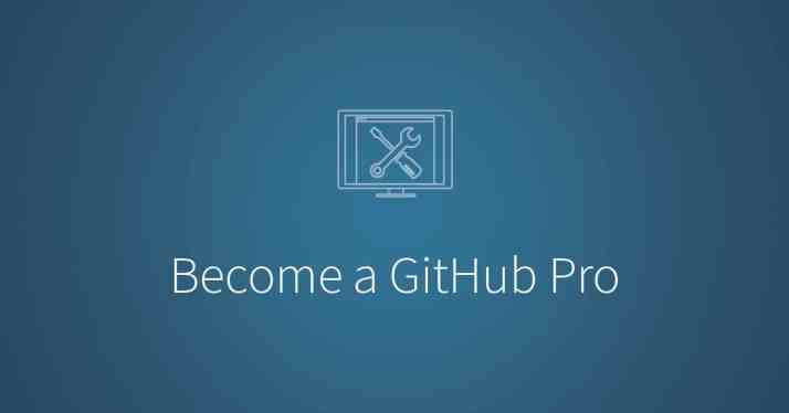 Become a GitHub Pro