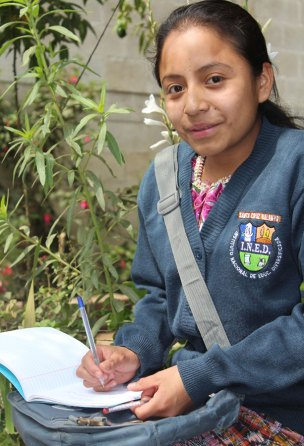 Wendy, CFCA sponsored child in Guatemala