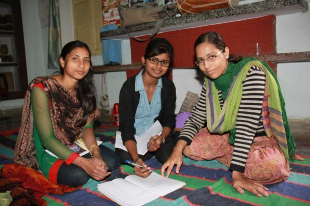 Nagma, CFCA sponsored youth in India