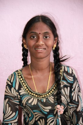 CFCA sponsored youth in Hyderabad, India.