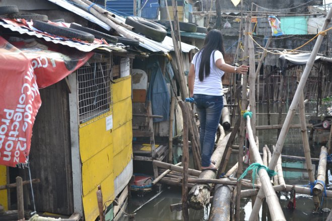 Communities in the Antipolo project that flooded in earlier storms took on more water when Super Typhoon Haiyan swept through a large swath of the Philippines.