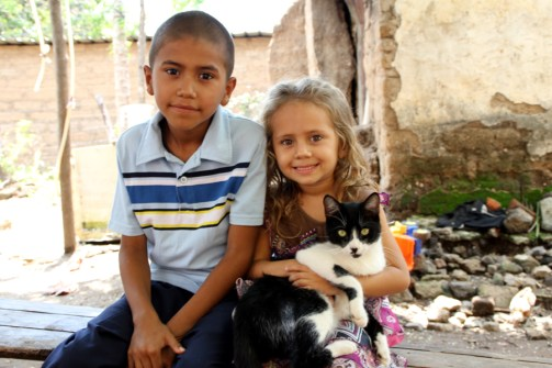 Sponsored child in El Salvador
