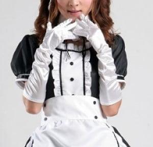 gloves white