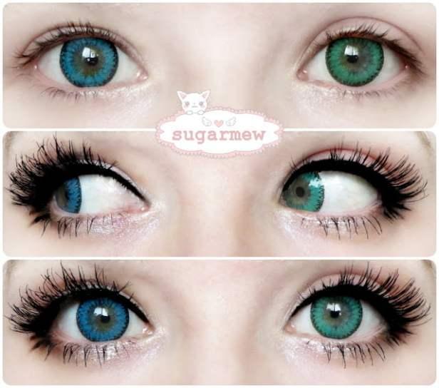 green blue eyes