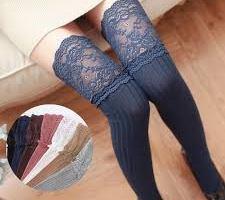 thigh socks