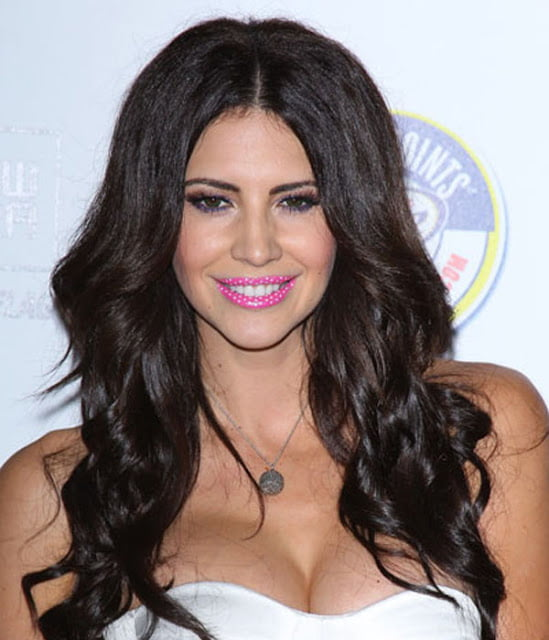 HOLLYWOOD, CA - MAY 11:  Hope Dworaczyk arrives at the Maxim Hot 100 Party held at Eden on May 11, 2011 in Hollywood, California.  (Photo by Michael Tran/FilmMagic) *** Local Caption *** Hope Dworaczyk;