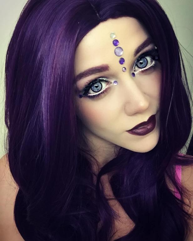 Sweety Glitter 2 tones violet
