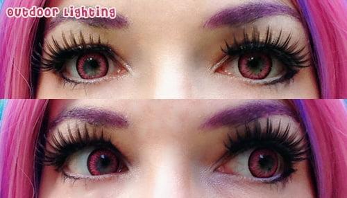 pink lady eyes