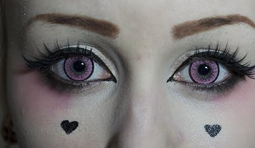 Colored contacts EOS ADULT II