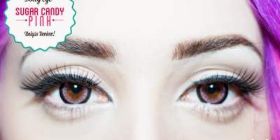 pink circle lenses