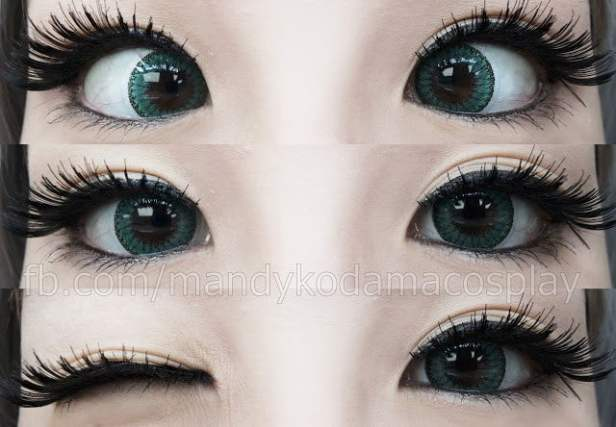 EOS colored contact lenses