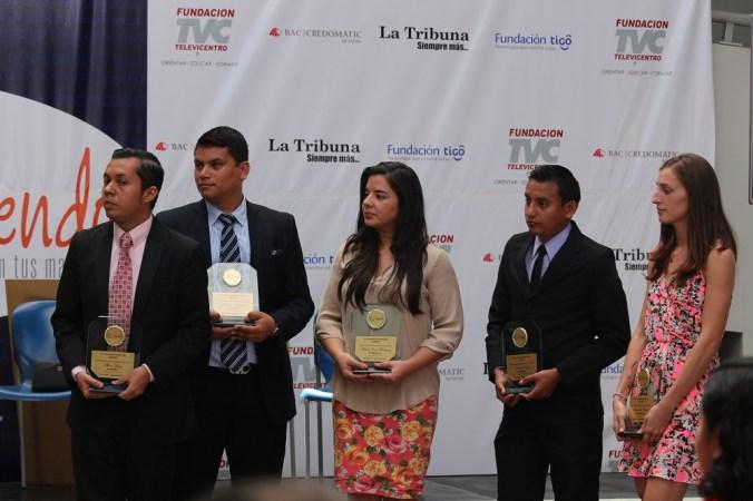 Galardonados cinco jóvenes emprendedores en Premio Yo Emprendo