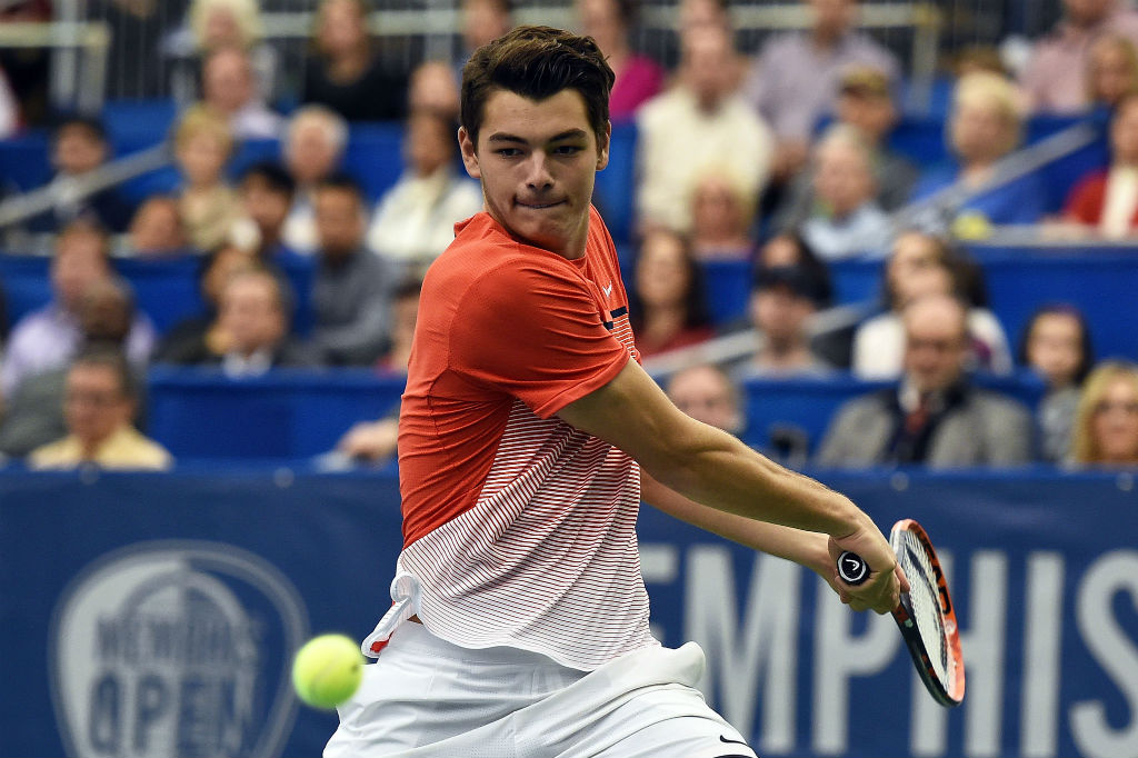 Taylor Fritz in Memphis