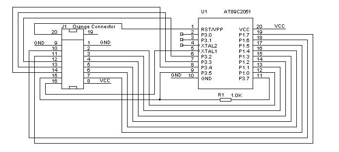 avr incircuit serial programmer schematic