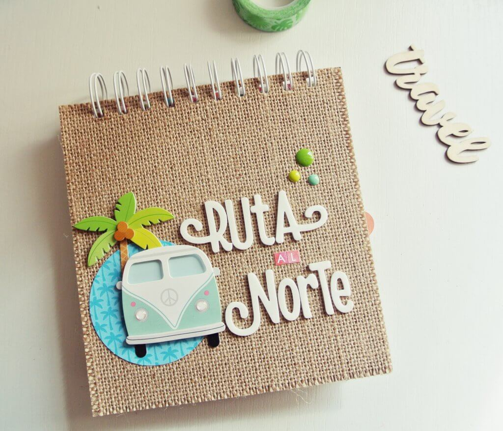 Decorar Album Scrap Utilizar La Encuadernadora Cinch Para Tu álbum