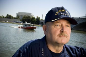 Admiral Allen of the US Coast Guard