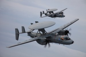 Northrop Grumman E-2D Advanced Hawkeye.