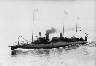 Russian Torpedo Boat circa 1897.