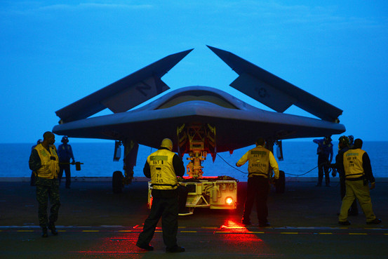 X-47B Wings Folded