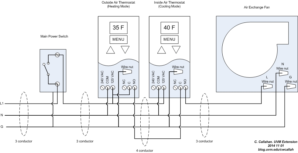 Thermostat 7 Wire Diagram Wiring