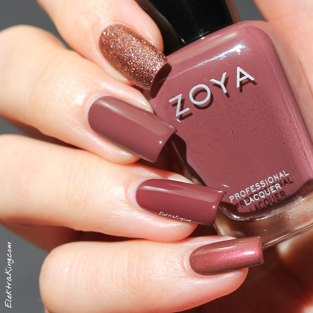 Nail Polish Nice Colors: Marsala Madness: Incorporating 2015's Official Color Into