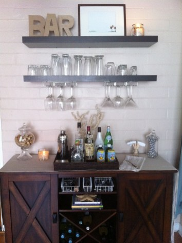 Wine Glass Storage Ideas Creative Home Bar Ideas Valor Fireplaces And Lifestyle Blog