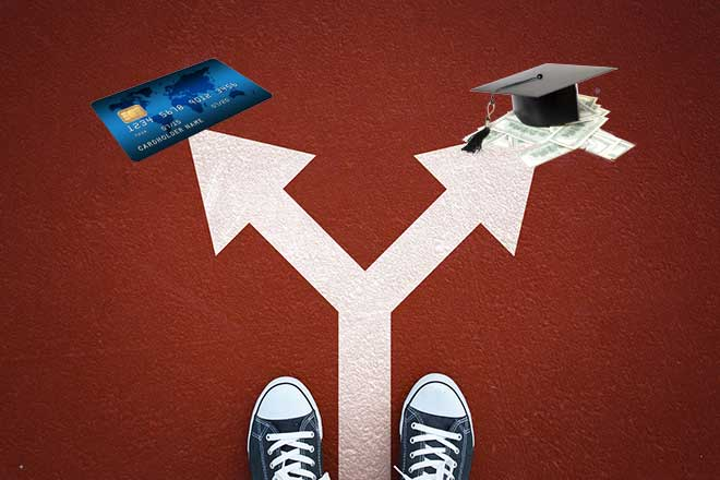 Student Loan Debt vs Credit Card Debt Which Should I Pay Off? - payoff credit card loan