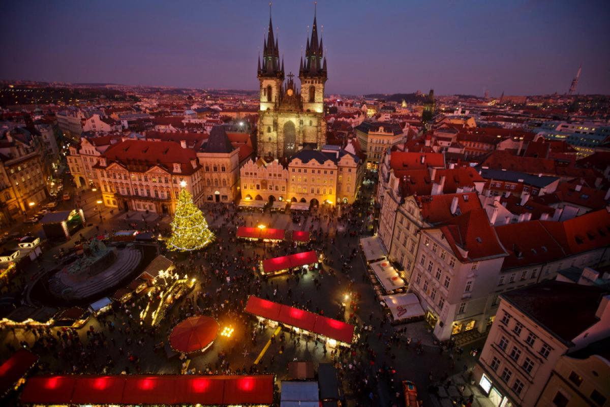 Weihnachten Im Schnee Tschechien Most Magical Christmas Towns - Via.com Travel Blog