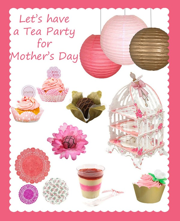 Let\u0027s have a Tea Party for Mother\u0027s Day! Via Blossom