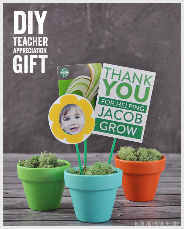 DIY Teacher Appreciation Gift by Vicky Barone