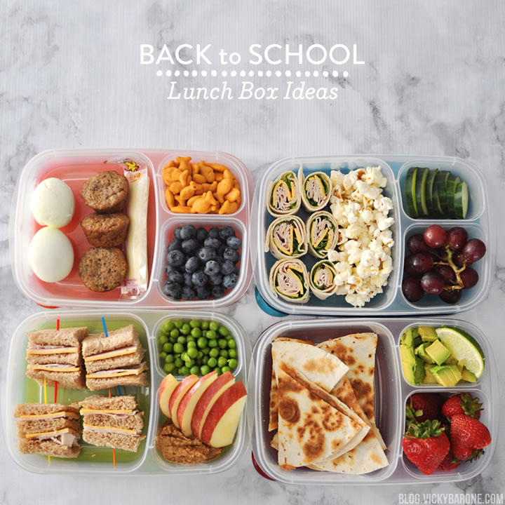 Back To School Lunch Box Ideas Vicky Barone
