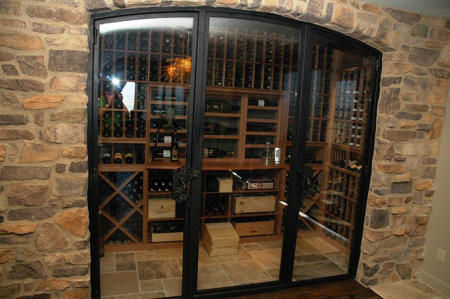 Small Wine Cellar Designs Custom Wine Cellars Part 2