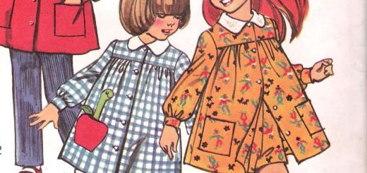5164 Simplicity Girls Dress