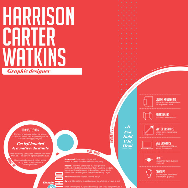 20 Beautiful Infographic Resumes That Will Inspire You Visual - infographic resume examples