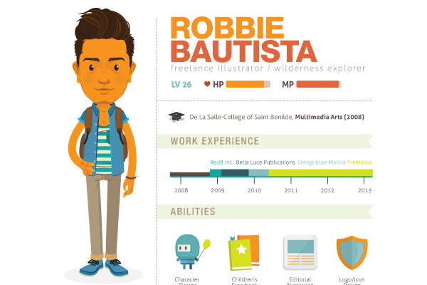 How to Create an Infographic Resume That Will Land You a Job - visual resume templates