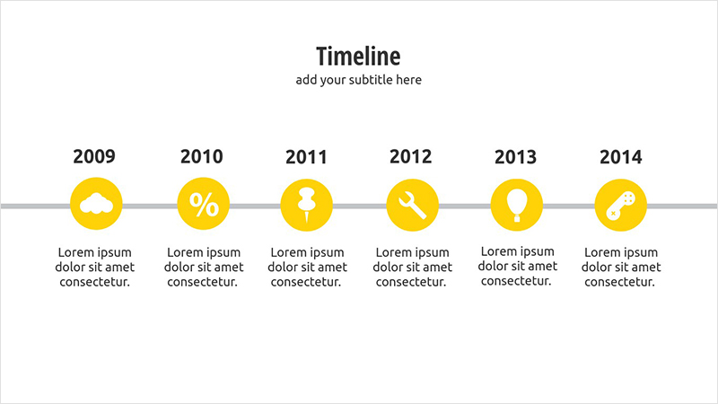 Visme Introduces New Presentation Templates Visual Learning - simple timeline template