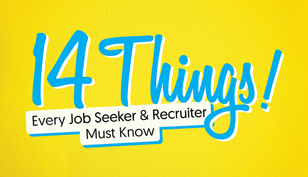 14 Things Every Job Seeker and Recruiter Must Know Visual - cover letter jobs
