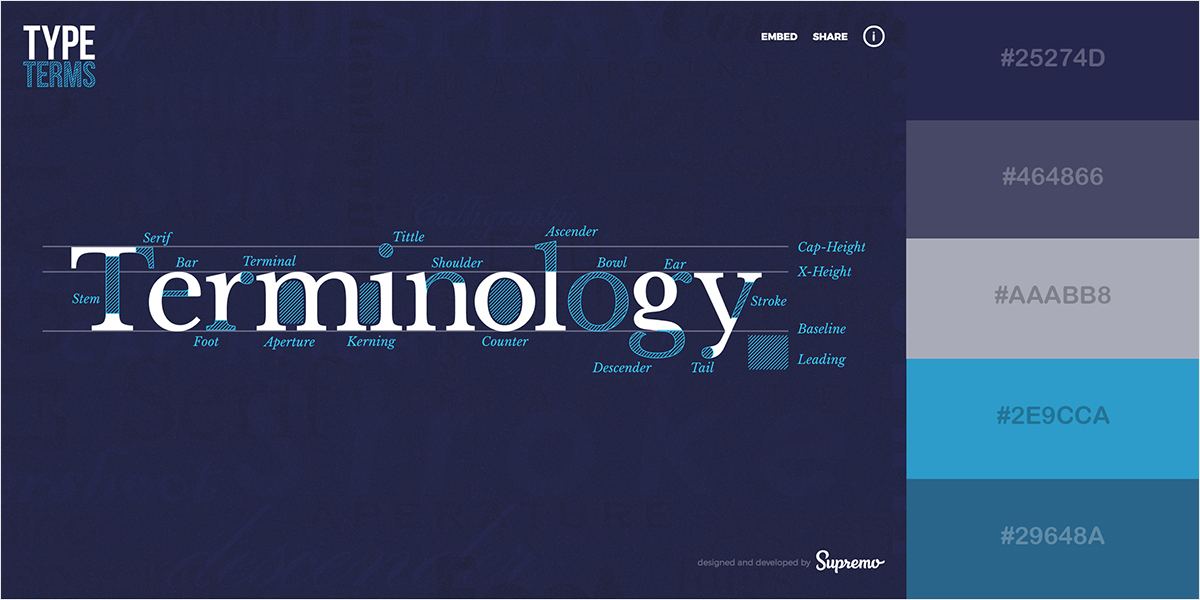 50 Gorgeous Color Schemes From Stunning Websites Visual Learning