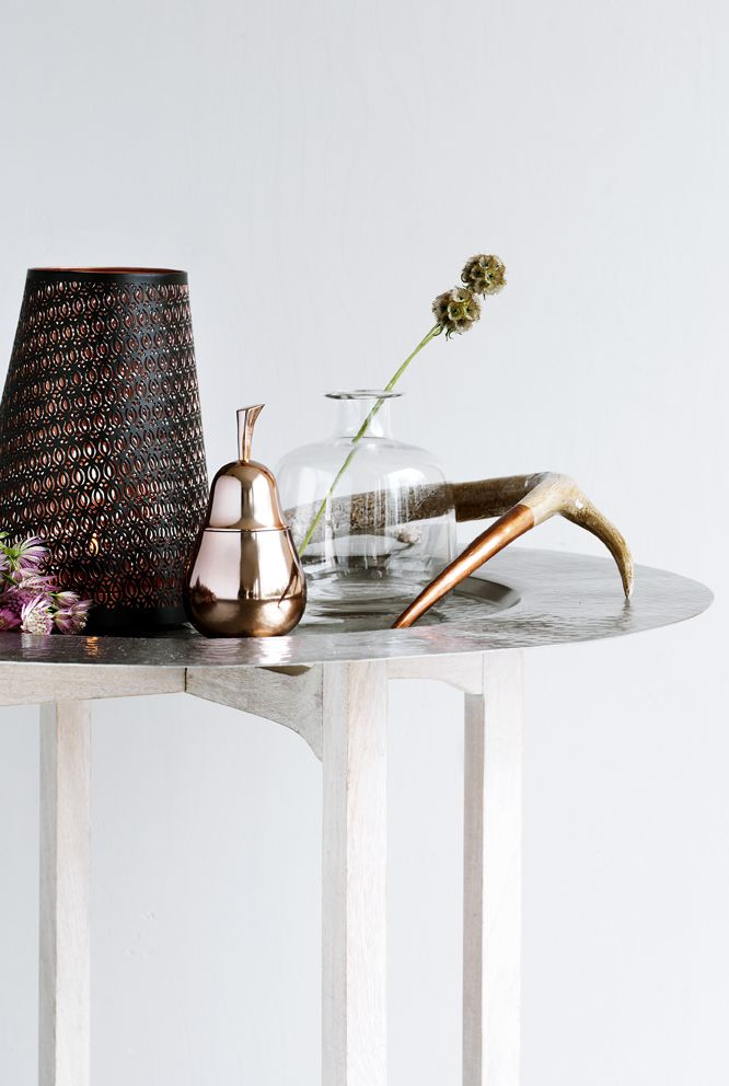 Styling with copper at Danish design company Broste Copenhagen