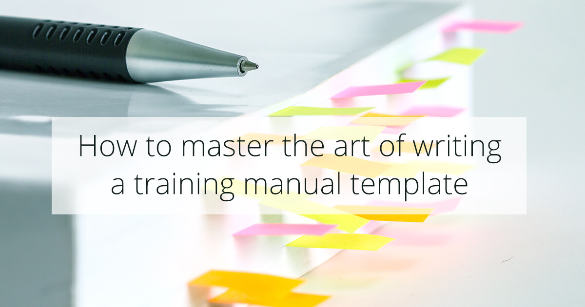 The Only Employee Training Manual Template You\u0027ll Need - WalkMe